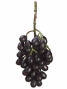 "11"" Artificial Grape Cluster - Set of 12 (Shown in Black)"
