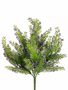 "11"" Artificial Mini Heather Bush - Set of 36"