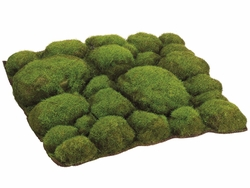 "12""Width x 12""Length Artificial Mood Moss Sheet - Set of 6"