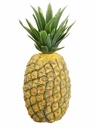 "13"" Artificial Hard Plastic Pineapple - Set of 12"