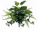 "16"" Artficial Pothos and Fern Mixed Bush Non Potted - Set of 12"