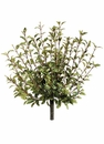 "Set of 6 - 16"" Artificial Oregano Bushes in Green"