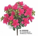"16"" Outdoor UV Artificial Azalea Flowers - Set of 12 Bushes"