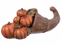"17"" Artificial Pumpkin Cornucopia Novelty Decoration"