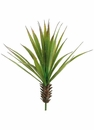 "17"" Desert Artificial Yucca Cactus Plant - Set of 12"