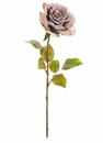 "18"" Artificial Single Rose Flower Spray Stem - Set of 12"