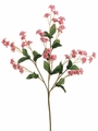 "19"" Artificial Double Baby's Breath Spray Stem - 2 Dozen - More Colors Inside"