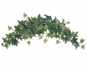 "20"" Artificial Silk Medium Sage Ivy Plant Swags  - Set of 6"
