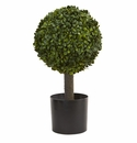 21� Boxwood Ball Topiary Artificial Tree
