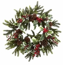 22� Holly Berry Wreath
