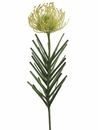 "23"" Artificial Needle Protea Spray Flower (shown in green) - Set of 12"