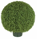 """24"""" Artificial Limited UV Protection Outdoor Boxwood Topiary Ball"""