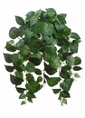 """24"""" Artificial Silk Philodendron Hanging Bush - Set of 12"""