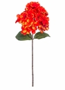 "24"" Silk Hydrangea Flower Spray Stem - Set of 12"