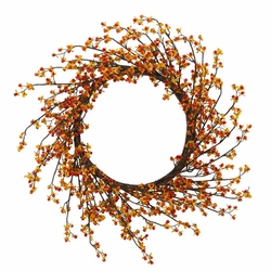 "24"" Sweet Bitter Artificial Wreath"