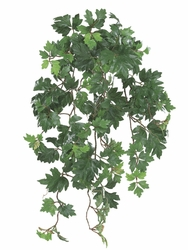 "26"" Artificial Danica Ivy Hanging Bush Plant wth 280 Leaves - Set of 6"