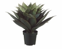 "28"" Artificial Agave Plant with 51 Leaves in Plastic Pot"