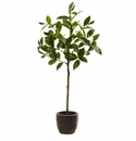 29'' Artificial Topiary Plant with Decorative Planter