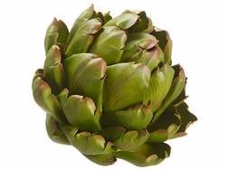 "3.5""HX3.75""W Artificial Artichoke Head - Set of 6"