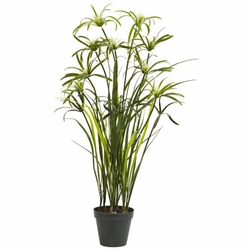 3' Artificial Papyrus Grass Plant in Pot