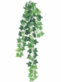 "22"" Artificial Mini Silk Ivy Hanging Bush Vine with 131 Leaves - 3 Dozen"