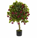 3� Fuchsia Artificial Tree