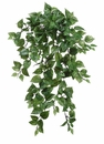 "31"" Artificial Medium Pothos Hanging Bush with 262 Leaves - Set of 6"