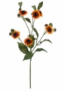 "31"" Mini Artificial Sunflower Silk Flower Spray - Set of 12"