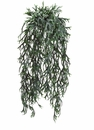 "32"" Artificial Staghorn Fern Hanging Bush in Frosted - Set of 12"