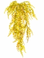 """33"""" Artificial Curley Fern Hanging Bush - Non Potted - Set of 12"""