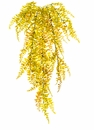 "33"" Artificial Curly Fern Hanging Bush - Set of 12"