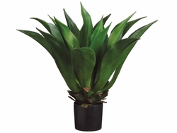 "33"" H - Artificial Giant Mexican Agave Plant in Plastic Pot"