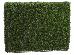 "33"" H x 9"" W x 46""L - Artificial Boxwood Hedge"