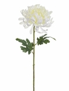 "33"" Mum Spray Silk Flower Stem - Set of 12"