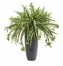 33�� Spider Artificial Plant in Cylinder Planter -