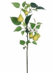"34.5"" Artificial Pear Branch - Set of 12"