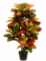 3' Artificial Eva Croton Tree