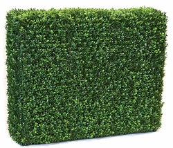 "36"" Wide x 30"" High Outdoor Artificial Boxwood Hedge - UV Protected"