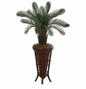 4� Cycas Artificial Tree in Decoorative Stand UV Resistant (Indoor/Outdoor) -