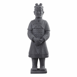 "40"" Warrior Statue Decor (Indoor/Outdoor)"