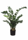"42"" Artificial  Zamioculcas Plant in Plastic Pot-Set of 2"