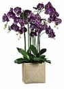 "45"" Artificial Phalaenopsis Orchid Plant Arrangement in Basket"