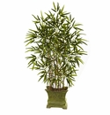 45� Bamboo Tree w/Decorative Planter