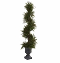 45� Mini Pine Spiral w/Urn (Indoor/Outdoor)