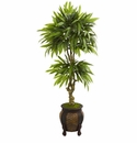 5.5� Mango Artificial Tree in Decorative Planter -