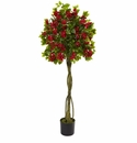 5� Bougainvillea Artificial Topiary Tree