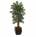 5� Parlor Palm Artificial Tree in Decorative Planter -