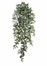 "51"" Artificial Medium Wandering Jew Hanging Bush with 547 Leaves - Set of 6"