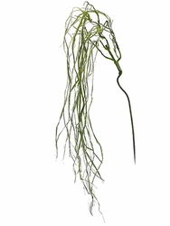 "52"" Artificial Moss Weeping Willow Spray - Set of 12"