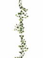 6' Artificial Lace Silk Ivy Garland - Set of 12